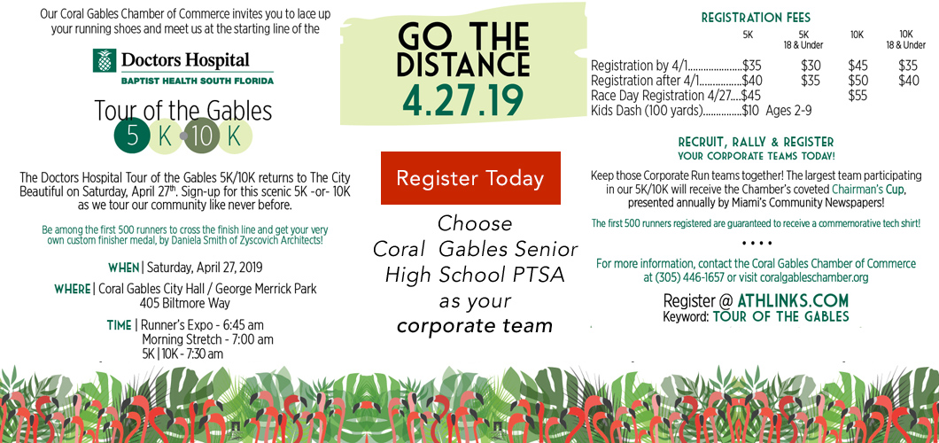 Register for the Go The Distance run